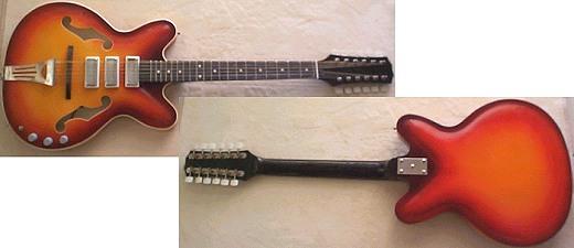 guitare electrique annee 60
