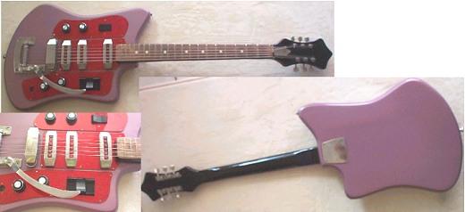 guitare electrique russe