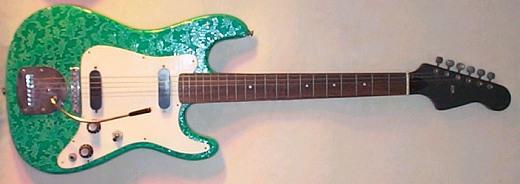 guitare electrique italienne